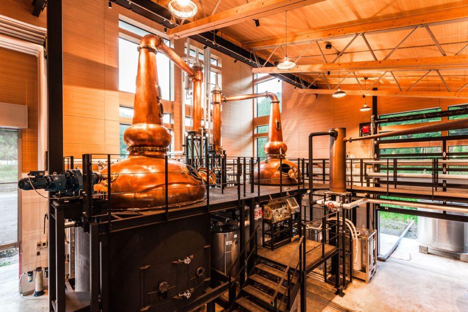 Gaia Flow whisky distillery